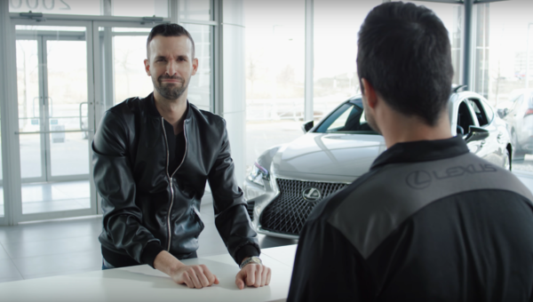 Royal Treatment at Lexus Laval
