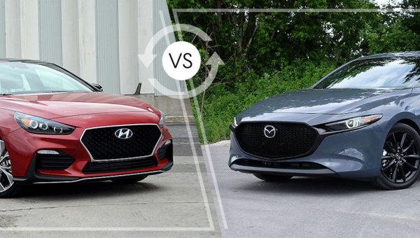 Comparaison: Mazda3 Sport 2019 vs Hyundai Elantra GT N-Line 2019
