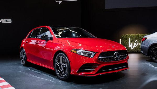 La Mercedes-Benz Classe A 2019 est au Salon de l'auto de Montréal