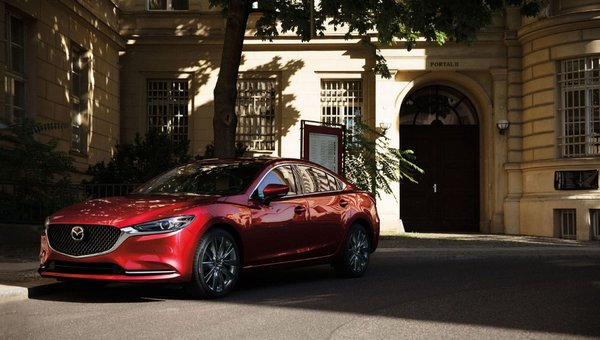 The enhanced sophistication of the Mazda6