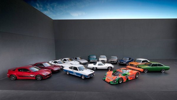 Mazda célèbre le 50e anniversaire de son moteur rotatif