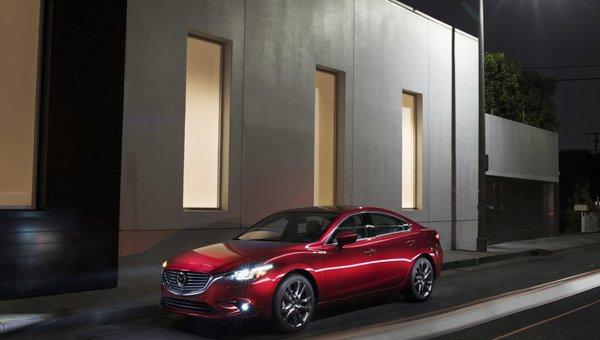 Mazda6 midsize sedan celebrates 15th anniversary