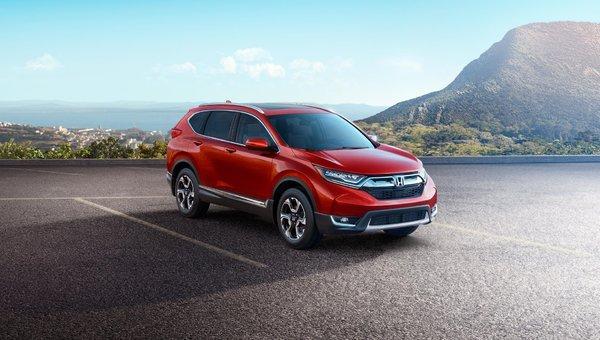 Trois choses à savoir sur le nouveau Honda CR-V 2018