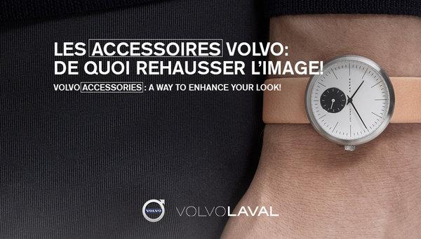 Les accessoires Volvo, de quoi rehausser l'image!