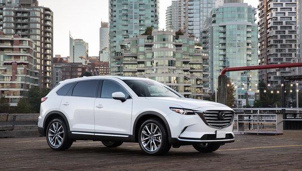 Voici le nouveau Mazda CX-9 2019