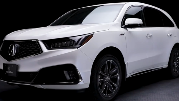 The new 2019 MDX