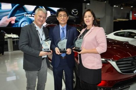 Mazda Wins Three 'Best' Category Awards from AJAC