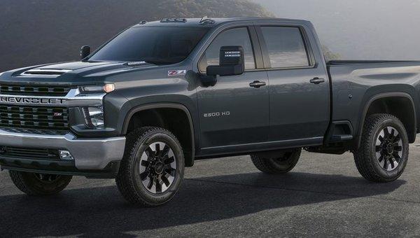 The 2020 Chevrolet Silverado HD looks really tough