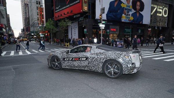 Plus qu'un mois avant la nouvelle génération de Corvette