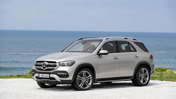 Here's the all-new 2020 Mercedes-Benz GLE