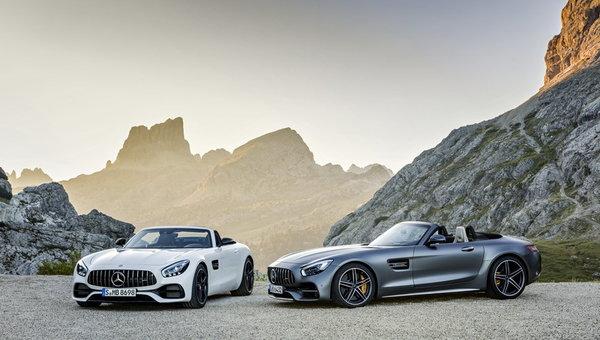 Mercedes-AMG dévoile la nouvelle GT Roadster