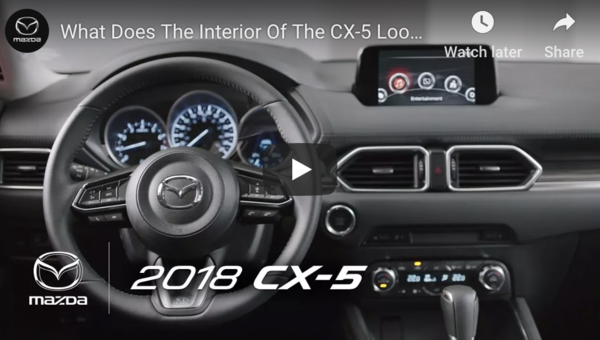 What Does The Interior Of The CX-5 Look Like?
