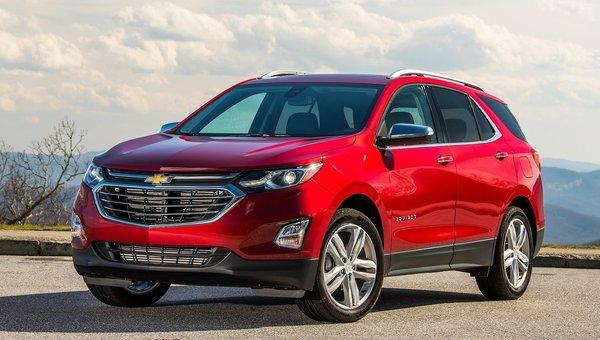 Le tout nouveau Chevrolet Equinox 2018