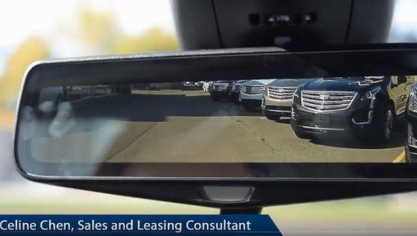Cadillac XT5 Rear View Mirror Back-Up Camera
