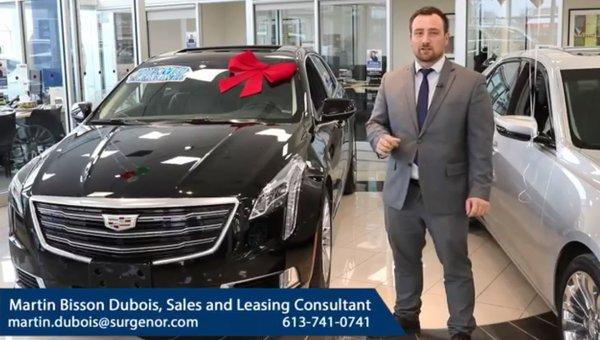 Cadillac Clearout at Surgenor Ottawa