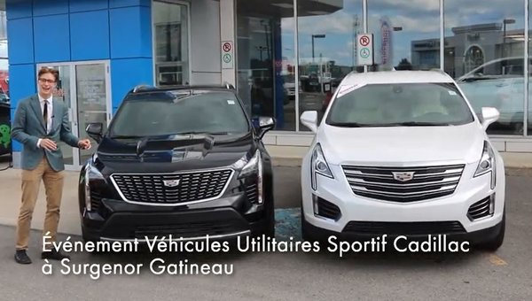 Surgenor Gatineau's Cadillac Sport Utility Vehicle Event