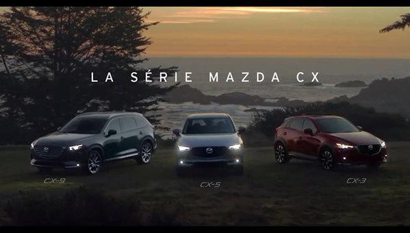 Moments mémorables La série Mazda CX Mazda Canada