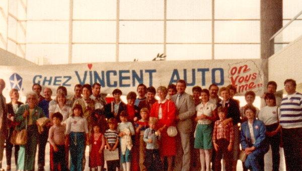 Groupe Vincent, dans l'automobile depuis 1924.