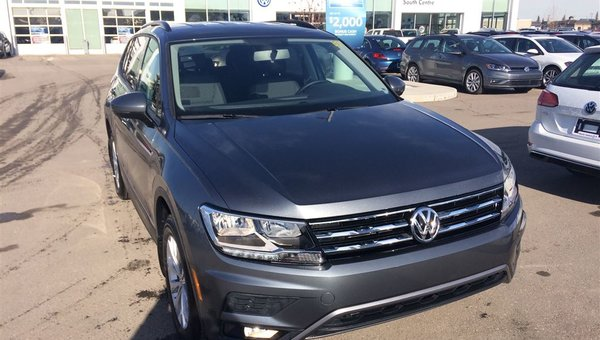 2018 Volkswagen Tiguan Trendline 2.0 8sp at w/Tip 4MOTION
