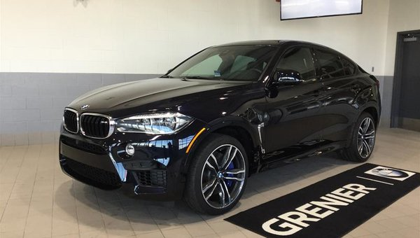 New 2017 Bmw X6 M Azurite Black Metallic 133094 0