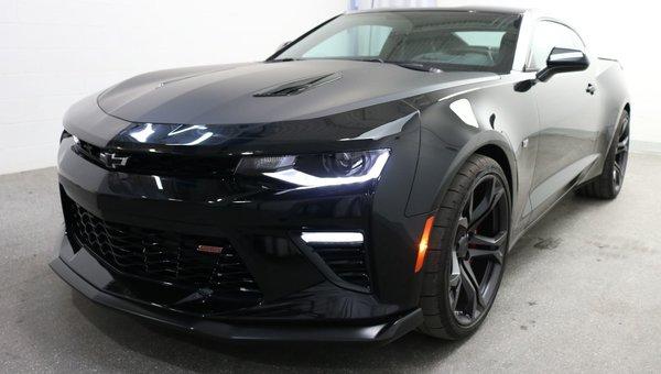 New 2018 Chevrolet Camaro Ss Black 50315 0 Grenier Chevrolet Buick Gmc 18 1361