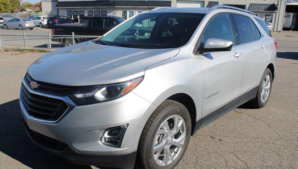 New 2019 Chevrolet Equinox Lt Silver 30695 0 Grenier