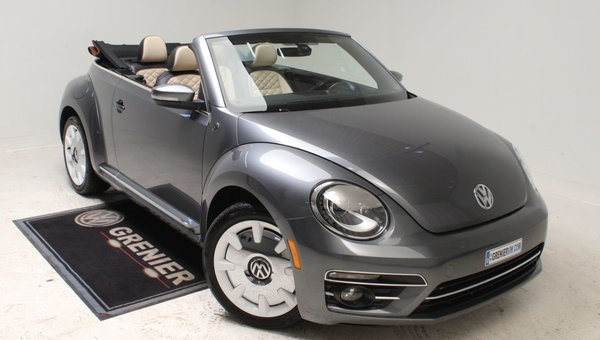 2019 Volkswagen Beetle Convertible WOLFSBURG+EDITION SPECIALE+APP-CONNECT+CUIR