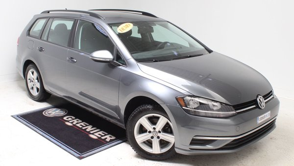 2018 Volkswagen Golf Sportwagon DEMO+CAM DE RECUL+BLUETOOTH