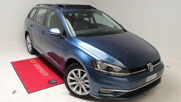 2019 Volkswagen GOLF SPORTWAGEN HIGHLINE+4MOTION+CUIR+CAM DE RECUL+BLUETOOTH