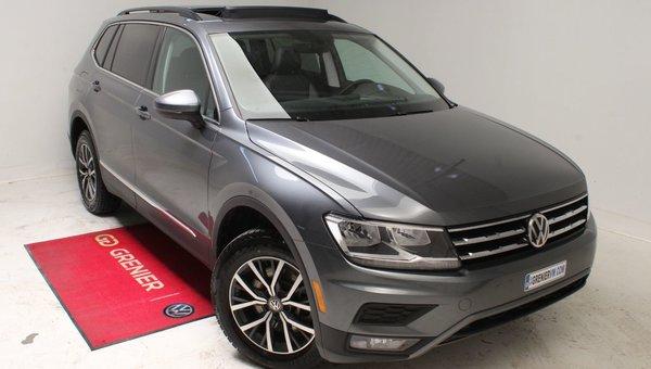 2019 Volkswagen Tiguan COMFORTLINE+7 PASSAGERS+TOIT PANO+DEMO