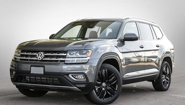 New 2019 Volkswagen Atlas Execline V6 4motion W R Line Captain