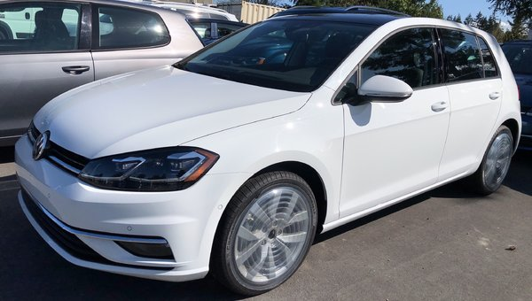 2019 Volkswagen GOLF 5DR EXECL 5DR 1.4L 147HP 8SP AUTO TIPTRONIC