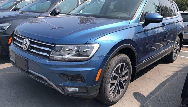 2018 Volkswagen Tiguan Comfortline 4Motion w/ Navigation