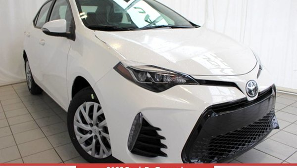 2017 Toyota COROLLA SE 6M