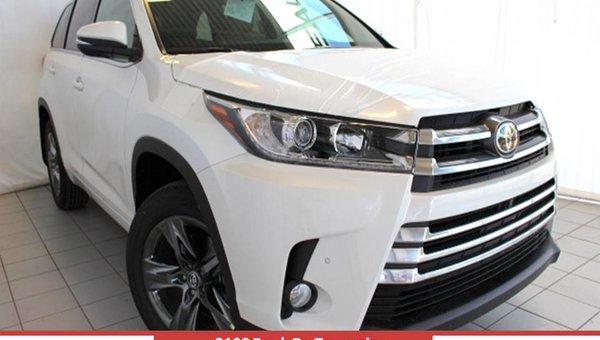 Toyota HIGHLANDER LIMITED V6 AWD Limited 2017