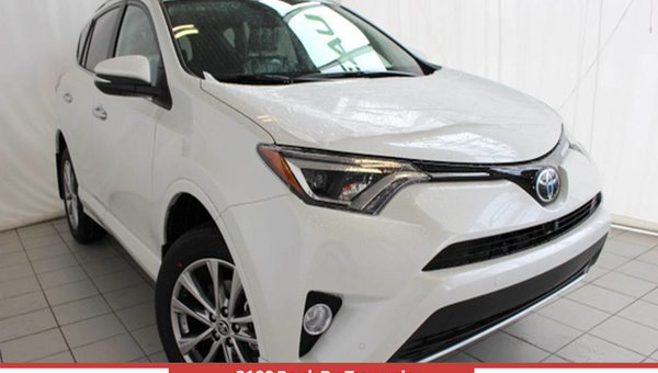 Toyota RAV4 AWD LIMITED Limited 2017