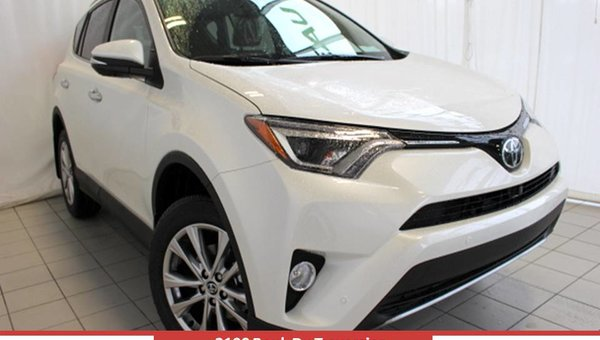 2017 Toyota RAV4 AWD LIMITED Limited