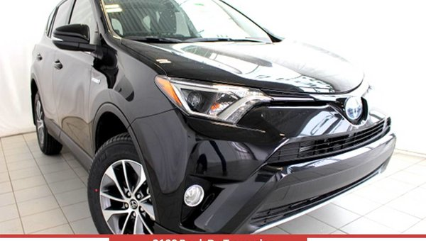 2017 Toyota RAV4 HYBRIDE LE+