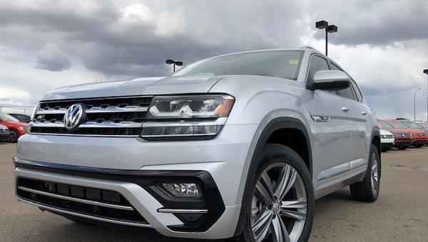 2019 Volkswagen Atlas EXECLINE 3.6L V6 4MOTION