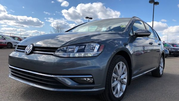 2019 Volkswagen Golf SPORTWAGEN 1.8 TSI HIGHLINE 6-SPEED AUTOMATIC  4MOTION