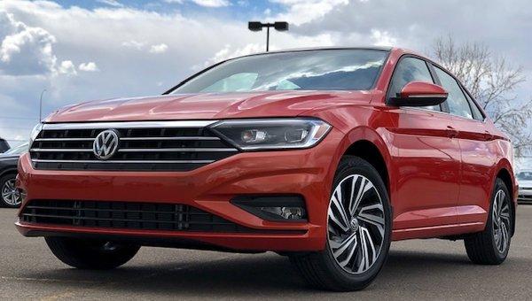 2019 Volkswagen Jetta EXECLINE 1.4T 6-SPEED MANUAL