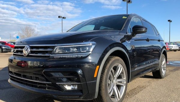 2019 Volkswagen Tiguan 2.0TSI HIGHLINE 8-SPEED AUTOMATIC 4MOTION