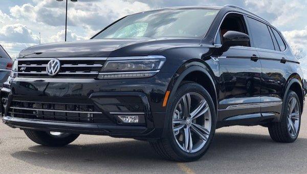 2019 Volkswagen Tiguan 2.0TSI HIGHLINE 8-SPEED AUTOMATIC 4MOTION