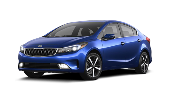 New 2017 Kia Forte Ex Luxury Azure Blue B2r Metallic For