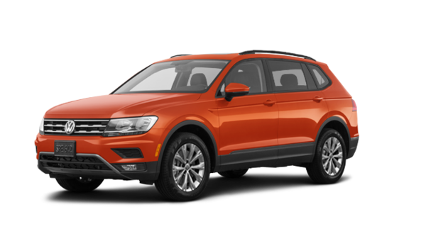 volkswagen tiguan trendline 2018 orange habanero met neuf 34770 0 grenier volkswagen 18 019. Black Bedroom Furniture Sets. Home Design Ideas