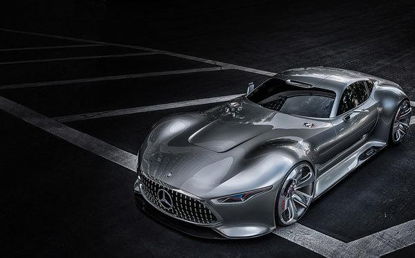 La voiture Mercedes-Benz AMG Vision Gran Tourismo