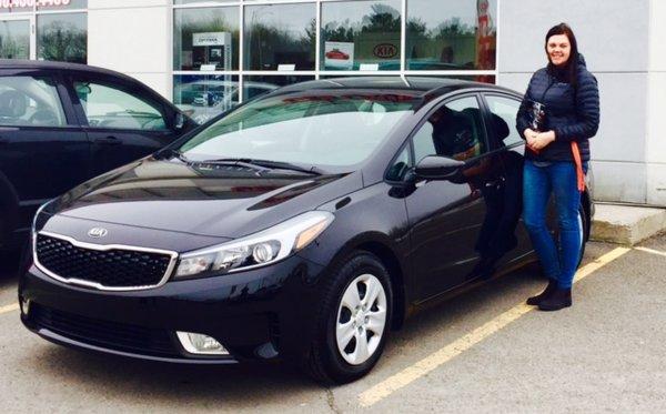 Félicitations à Madame Lepage pour sa toute première voiture neuve !!!