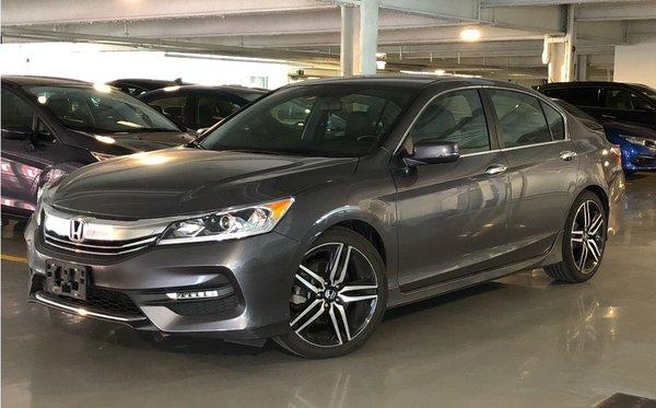 2017 Honda Accord Sedan L4 Sport CVT