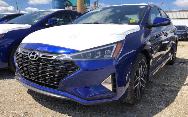 2019 Hyundai Elantra Sport - DCT