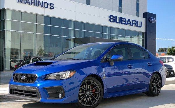 2018 Subaru WRX 4Dr Sport-Tech RS Pkg 6sp